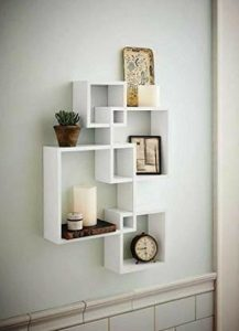 rak pajangan dinding minimalis