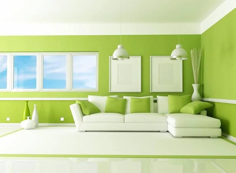 warna cat ruangan keluarga yang sejuk